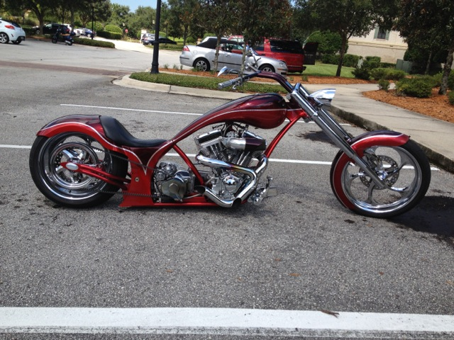 Custom Harley Headed